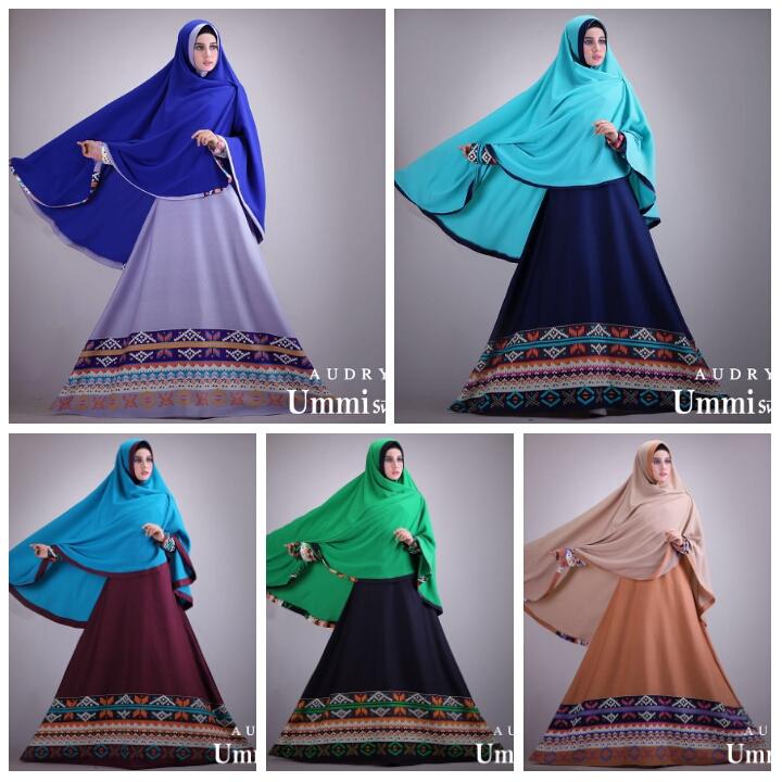 Contoh Model Baju Hijab Simple - Audry Syarí By Az-Zahra ...